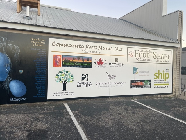 Community Roots Mural